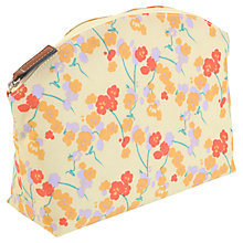 Buy Radley Butterfield Medium Cosmetic Case, Yellow Online at johnlewis.com