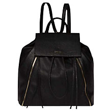 Buy Calvin Klein Izzy Backpack, Black Online at johnlewis.com