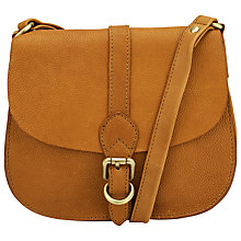 Buy John Lewis Ashley Leather Across Body Bag, Tan Online at johnlewis.com