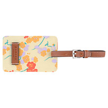 Buy Radley Butterfield Luggage Tag, Yellow Online at johnlewis.com