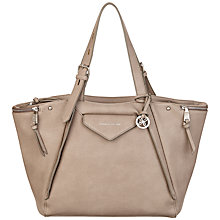 Buy Fiorelli Paloma Large Shoulder Bag, Light Grey Online at johnlewis.com