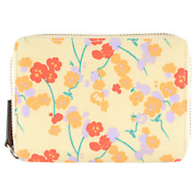 Buy Radley Butterfield Medium Zip Purse, Yellow Online at johnlewis.com
