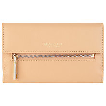 Buy Modalu Erin Leather Flapover Zip Purse Online at johnlewis.com
