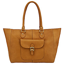 Buy John Lewis Winchester Large Leather Tote Bag, Tan Online at johnlewis.com