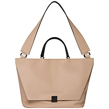 Buy Calvin Klein Kate Medium Leather Shoulder Bag Online at johnlewis.com