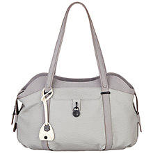 Buy Nica Sandy Triple Compartment Shoulder Bag, Grey Online at johnlewis.com