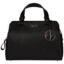 Buy Calvin Klein Sofie Small Leather Duffle Bag Online at johnlewis.com