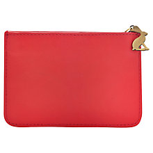 Buy Joules Chancery Leather Coin Purse, Peachy Pink Online at johnlewis.com