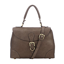 Buy John Lewis Top Handle Small Leather Grab Bag Online at johnlewis.com