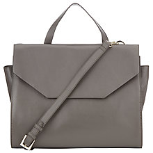 Buy COLLECTION by John Lewis Loren Leather Pocket Multiway Bag, Grey Online at johnlewis.com