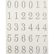 Buy John Lewis Adhesive Diamante Numbers, Pack of 30 Online at johnlewis.com