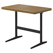 Buy Gloster Grid Outdoor Side Table, Meteor Online at johnlewis.com