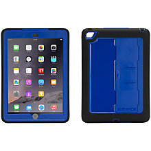 Buy Griffin Survivor Slim Case for iPad Air 2, Black & Blue Online at johnlewis.com