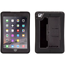 Buy Griffin Survivor Slim Case for iPad mini, 1, 2 & 3, Black Online at johnlewis.com