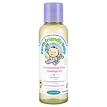 Buy Earth Friendly Baby Moisturising Shea Massage Oil, 125ml Online at johnlewis.com