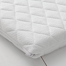 Buy John Lewis Premium Foam Crib Mattress, 84 x 40cm Online at johnlewis.com