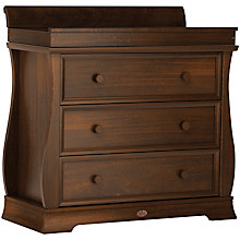 Buy Boori Sleigh Three Drawer Dresser, English Oak Online at johnlewis.com