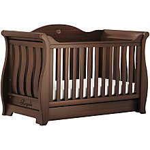 Buy Boori Sleigh Royale Cotbed, English Oak Online at johnlewis.com