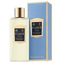 Buy Floris Santal Shower Gel, 250ml Online at johnlewis.com