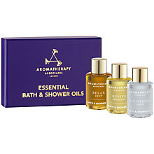 Buy Aromatherapy Associates Essentials Relax, De-Stress, Revive 3 x 7.5ml Online at johnlewis.com
