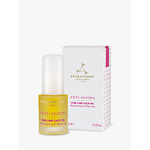 Buy Aromatherapy Associates Anti-Ageing Fine Line Face Oil, 15ml Online at johnlewis.com