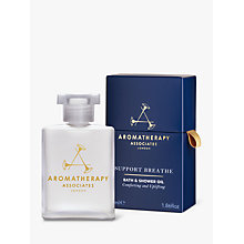 Buy Aromatherapy Associates Support Breathe Bath and Shower Oil, 55ml Online at johnlewis.com