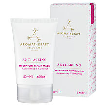 Buy Aromatherapy Associates Anti-Ageing Overnight Repair Mask, 50ml Online at johnlewis.com