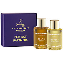 Buy Aromatherapy Associates Perfect Partners Bath and Shower Oils, 2 x 7.5ml Online at johnlewis.com