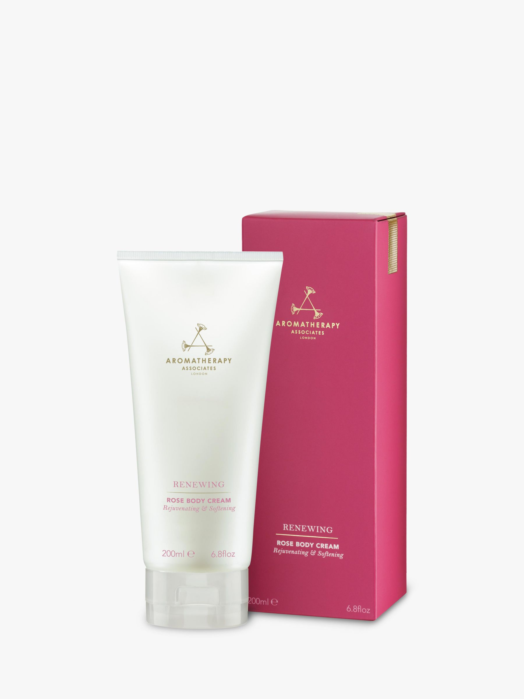 Aromatherapy Associates Renewing Rose Body Cream 200ml