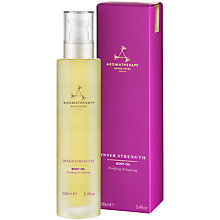 Buy Aromatherapy Associates Inner Strength Body Oil, 100ml Online at johnlewis.com