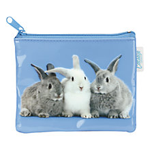 Buy Catseye Rabbits on Blue Coin Purse Online at johnlewis.com