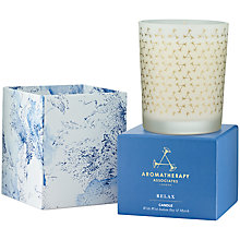 Buy Aromatherapy Associates Relax Candle Online at johnlewis.com
