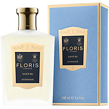 Buy Floris Santal After Shave, 100ml Online at johnlewis.com