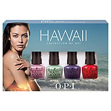 Buy OPI Hawaii Collection Mini Pack, 4 x 3.75ml Online at johnlewis.com