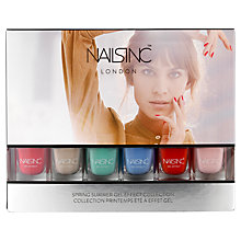 Buy Nails Inc Spring Summer 2015 Mini Gel Effect Collection, 6 x 4.5ml Online at johnlewis.com