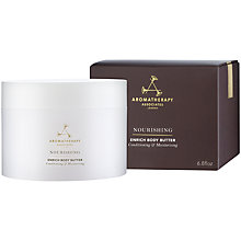 Buy Aromatherapy Associates Nourishing Enrich Body Butter, 200ml Online at johnlewis.com