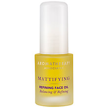 Buy Aromatherapy Associates Mattifying Refining Face Oil, 15ml Online at johnlewis.com