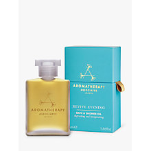 Buy Aromatherapy Associates Revive Evening Bath and Shower Oil, 55ml Online at johnlewis.com