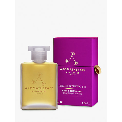 buy aromatherapy associates strength bath and shower oil