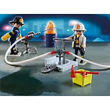 Buy Playmobil City Action Fireman Carry Case Online at johnlewis.com