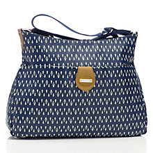 Buy Storksak Nina Teardrop Changing Bag, Navy Online at johnlewis.com