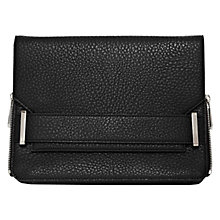 Buy French Connection Eliza Cross Body Bag, Black Online at johnlewis.com