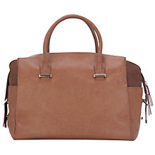 Buy French Connection Safia Handbag, Tan Online at johnlewis.com