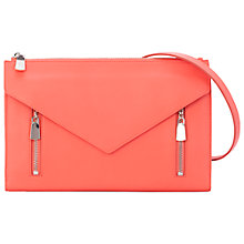 Buy French Connection Lora Cross Body Bag, Nasturium Online at johnlewis.com
