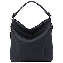 Buy French Connection Willow Casual Bag, Black Online at johnlewis.com