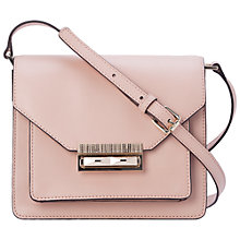 Buy French Connection Dayna Crossbody Bag, Mahogany Nude Online at johnlewis.com