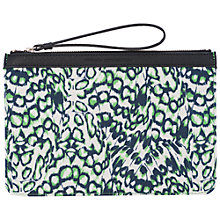 Buy French Connection Imogen Pouch, Leopard Moth/Black Online at johnlewis.com