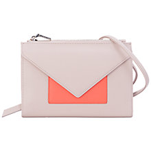 Buy French Connection Saskia Crossbody Bag, Barley Sugar/Nasturi Online at johnlewis.com
