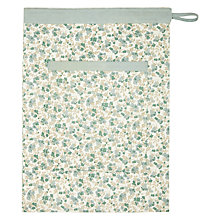 Buy John Lewis Croft Collection Ditsy Flowers Laundry Bag Online at johnlewis.com