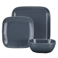 Buy House by John Lewis Matte 12-Piece Tableware Set Online at johnlewis.com